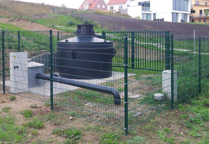 Abluftreinigungsanlagen: UGN-BEGA-System zur gezielten Belüftung und Entlüftung mit integrierter Abluftreinigung, Verfahrenskonzept 3. Abluftreinigung