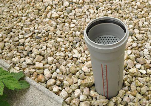 UGN-Rohrfilter aus Kunststoffrohr, Schadstoff- und Geruchsfilter zum Auf- und Zwischenstecken in Be- und Entlüftungsrohre