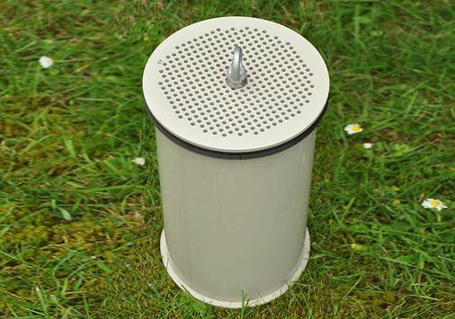 UGN-Rohrfilterpatrone aus Kunststoffrohr, Schadstoff- und Geruchsfilter zum Einsetzen in Be- und Entlüftungsrohre von Pumpenschächten, Entlüftungsdomen, Brunnenabdeckungen