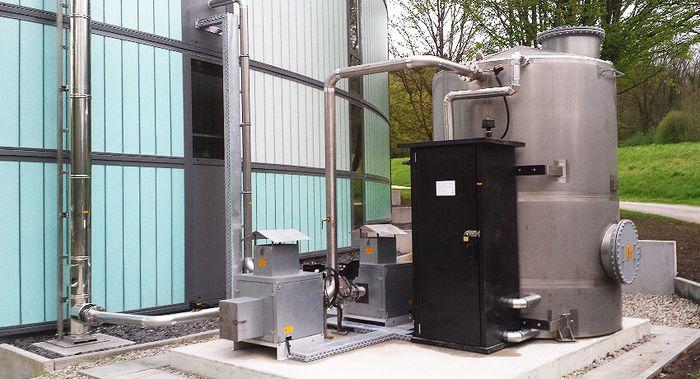 Abluftreinigungsanlage UGN-Modulssystem aus Kunststoff PE zum Geruchsabbau und Schadtstoffabbau aus industriellen Prozessen und abwassertechnischen Anlagen