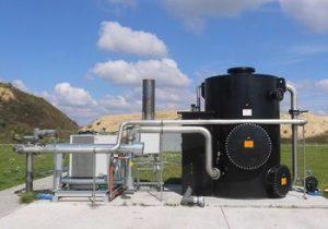 Gasentschwefelungsanlagen UGN-BEKOM-H, für die Aufbereitung von Rohbiogas bei anschließender Verwertung in einem Blockheizkraftwerk (BHKW)